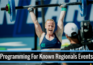 9 Steps to Programming for Known Regionals Events