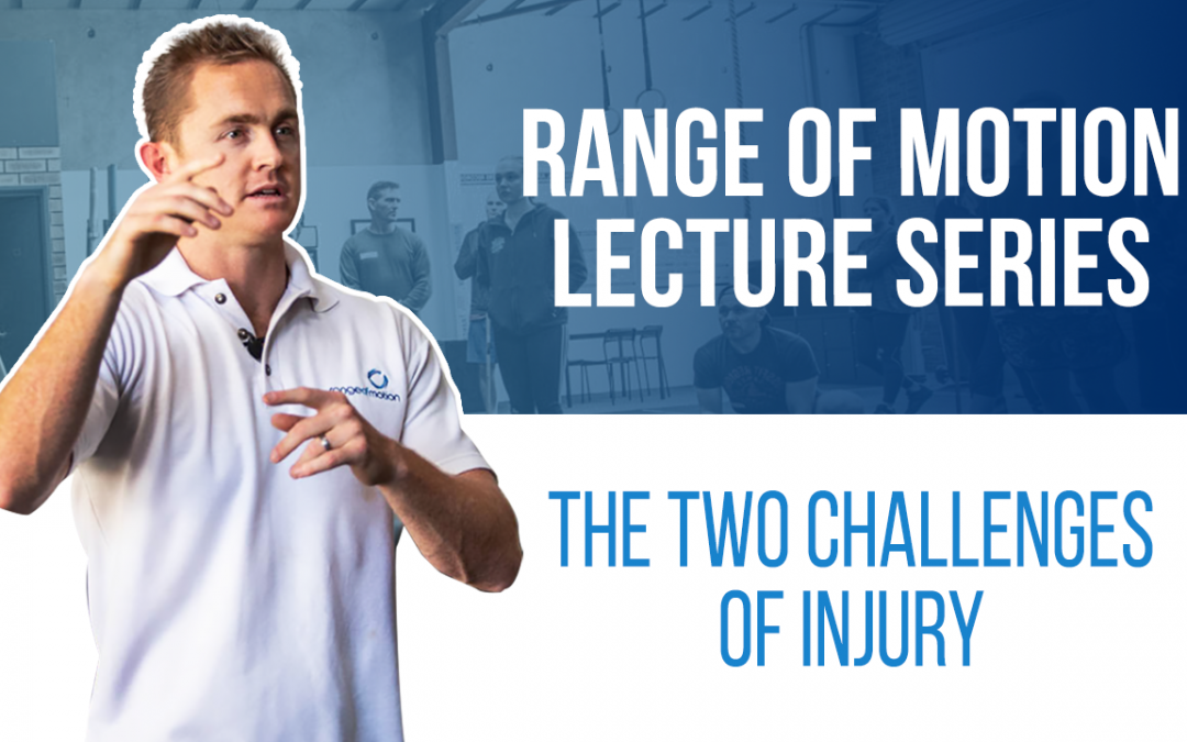 The two challenges of injury