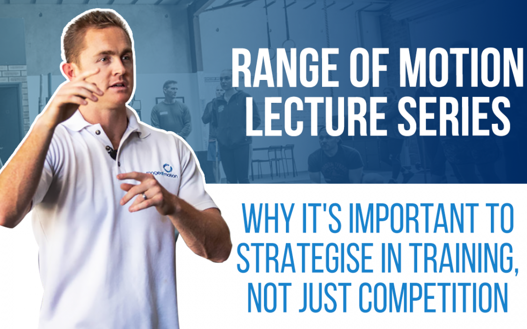 Why it's important to strategise in training, not just competition