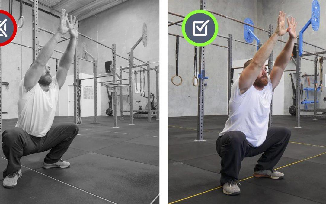 Foot turn-out / ankles open / weight on ball of foot. Squat, Jump, Run, Cycle Movement Therapy.