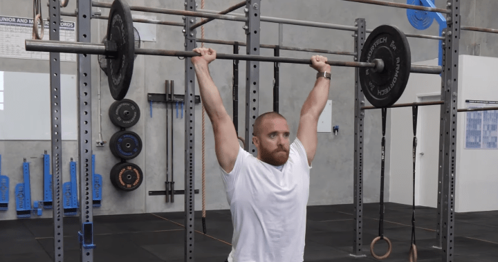 Olympic Weightlifting Jerk Fault Correction: Stance too short/narrow on the split