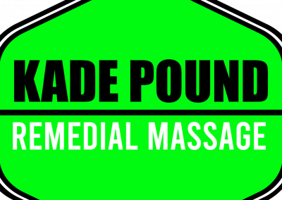 Kade Pound Remedial Massage