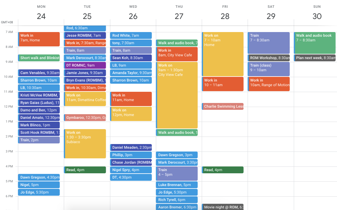 Take control of your calendar to turbocharge your productivity and happiness.